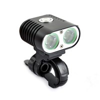 Waterproof Capped Bike Headlight 2000lumens Xml u2 Bicycle Light Aluminum LED Front Bike Light