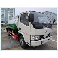 DFAC mini fecal suction truck 4CBM for sale