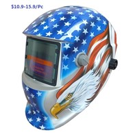 OEM latest  Auto darkening welding helmet with different type shell,  auto filter selected