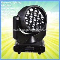 19*15W 4IN1 LED Moving Head Wash Zoom Light (BS-1050)