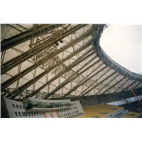 Huaibei Stadium membrane structure roof canopy