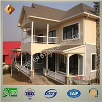 Prefab Steel Frame Structures for Carport with ISO 9001 Approved