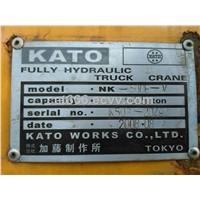 Used KATO NK-500E-V 50t Truck Crane