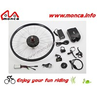 36V350W electric front wheel rear wheel bike conversion kit