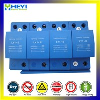 Ly1-B (10/350) 25ka 4pole Lightning arrester Surge Protector Switch Type for AC Power