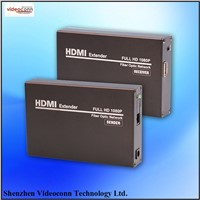 Single Cable HDMI Fiber Optic Extender