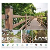 [WAPS] DURA SQUARE - Wood Plastic Composite(WPC), Aluminum Profile, Railing, Fence, Pergola