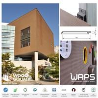 [WAPS] WOOD SQUARE - Wood Plastic Composite(WPC) Sidding, Cladding, Building Exterior