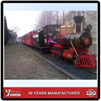 YJ90S Tourism archaistic small train suitable for Narrow-gauge railway shunting or tourist areas