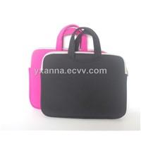 high quallity noprene Laptop bag with handle