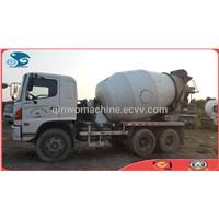 6*4, 9cbm Hino Japan-originated USED Mixer Truck for Construction