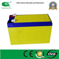 12v7ah sealed lead acid battery UPS battery