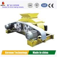 Automatic Roller crusher machine for clay brick making