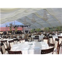 Outdoor Fabric Wedding Marquee Tent Venues for Sale