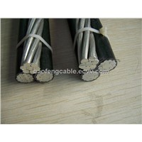 4 Core XLPE ABC Cable Aluminum alloy AAAC Conductor ABC cable