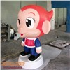Fiberglass cartoon mascot,cute mascot,custom made
