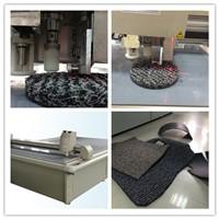Carpet Car cushion Mat sample maker cutting machine