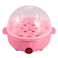 Family mini lovely egg steamer for household many colors for option,for kids cooking