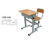 Factory supply school furniture student desk and chair  KY-146
