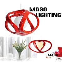 Indoor Resin Pendant Lamp Modern Suspending Lamp elegant shape inovative style energy save