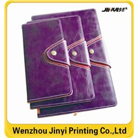 hard over  notebook ,pu leather notebook