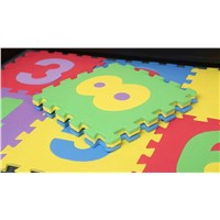 0-9 numbers EVA Interlocking Jigsaw Mat