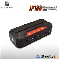 Exclusive Design 18000mAh emergency multi-function jump starter car Jump Starter with caution light