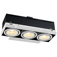 Trimless recessed modular down light,recessed fitting