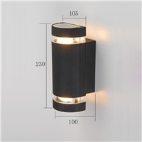 aluminum outdoor wall light  waterproof  up and down LED wall lamp