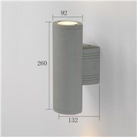 top quality up and down outdoor wall lamps LED aluminum outdoor wall light for hotel/hall