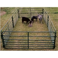 Light Powder-coating Tubular Corral Goat Panel