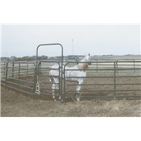 Powder-Coating Portable Tubular Horse Yard Panel