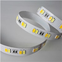 White&Warm White Adjustable Warm White LED Strip 5630 120led/m DC24V with UL or ETL