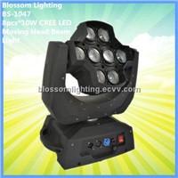 8pcs*10W CREE LED Moving Head Beam Light (BS-1052)