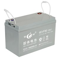 Solar system 12v80ah sealed colloid battery from China