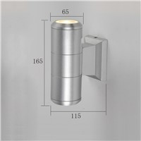 hot sale high quality aluminum outdoor up and down wall lighting