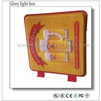 Popular Aluminum Frame Acrylic Material LED Outdoor Advertising Light Box