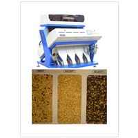 wheat color sorting machine
