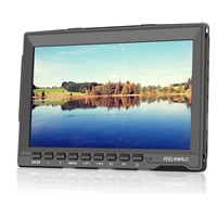 """7""""IPS 1280*800 HDMI Field Monitor with Peaking red outline"""