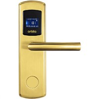 Hot selling hotel gold color RFID card lock E3131