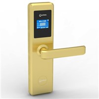 Orbita 2015 new product gold color hotel keycard lock E4131