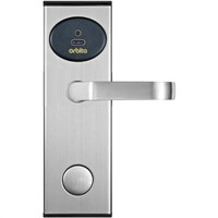 Stainless steel hotel RF card  door lock