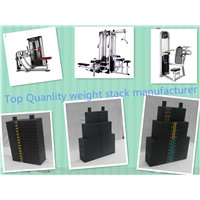 Weight Stack for indoor fitness Equipment & multifunction fitness equipment