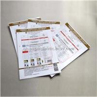 QH-SF-0018 High Quality Laminated Card/ Plastic Laminated Milk Advertizing Card