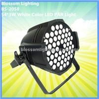 54*3W White Color LED PAR Light (BS-2058)
