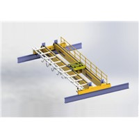5T electric double-beam bridge crane