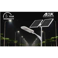 Solar Street Light system with Solar panel and solar battery