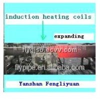 stainless steel pipe tube induction heating hydraulicbender