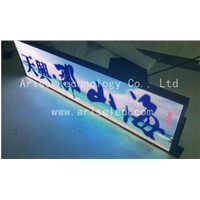 Taxi LED Banner Signs/ TAXI LED Display: P4/P5/P6