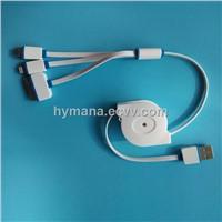 RETRACTABLE USB CHARGING CABLES